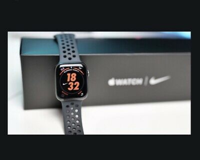 $ CDN562.61 • Buy Apple Watch Series 5 Nike 40mm Space Grey Aluminum Case With Anthracite/Black...