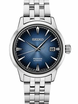 $ CDN460.02 • Buy Seiko Men's Presage Cocktail Bluemoon Automatic Watch Stainless SRPB41
