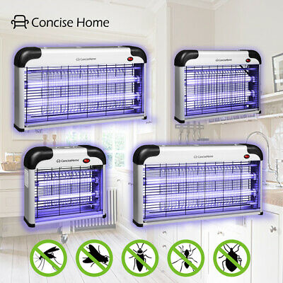£9.99 • Buy Concise Home Electric Insect Killer UV Light Mosquito Fly Zapper 12W20W30W40W