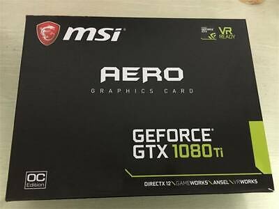 $ CDN1321.71 • Buy MSI GeForce GTX 1080 Ti Aero OC 11GB GDDR5X Gaming Graphic Card