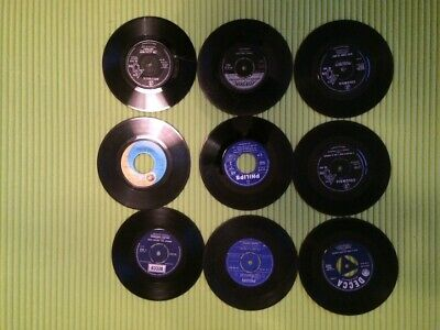 10 X 7  Vinyl Records For Recycling/crafts Rock & Roll 1950s And 1960s  • 3.50£