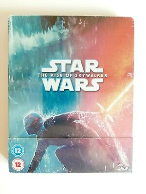 AU64.41 • Buy Star Wars The Rise Of Skywalker Steelbook: 3D, Blu Ray Sealed New Mint