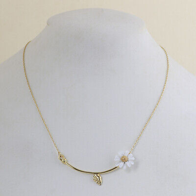 $ CDN21.09 • Buy Kate Spade Into The Bloom Daisy Gold Necklace W/ Gift Box And Dust Bag