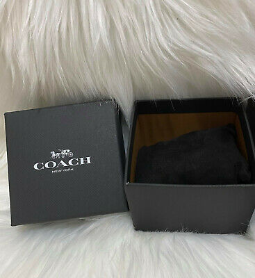 $ CDN9.43 • Buy New Complete Coach Black Watch Gift Box, Pillow And Manual