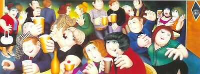 SATURDAY NIGHT By BERYL COOK - Larger Print - NOT A Card • 12.50£