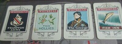£4.99 • Buy Whitbread Inn Signs From Bournemouth 25 Card Series, Great Condition, Pub Cards
