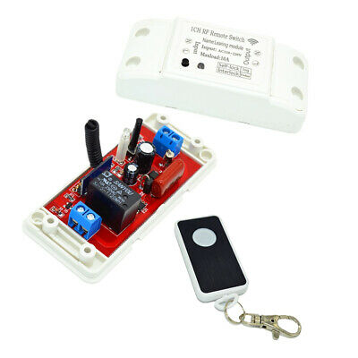 £7.73 • Buy 220V Remote Time Delay Switch Relay Light Switches Auto Self-locking Delay