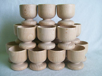 £9.99 • Buy  Wooden Egg Cups Easter, Wedding Favours Set Of 12, 20, 40, 80,100,120,130, 200