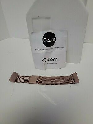 AU12.77 • Buy NEW Oitom Smart Watch Band Rose Gold Metal Strap For Fitbit Alta/Alta HR Size S
