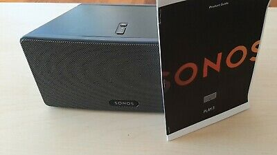 AU320 • Buy SONOS PLAY 3 Wireless Speaker Excellent Conditon W/ Manual And Ethernet Cable