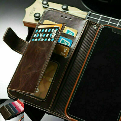 $ CDN8.57 • Buy For Samsung S20 Ultra S10 S8 S9 Note 10 Plus Leather Flip Wallet Card Case Cover