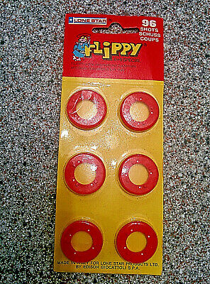 Lone Star FLIPPY Toy Gun Caps 96 Shots - Sealed On Card • 0.99£