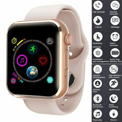 $ CDN25.28 • Buy Women Smart Watch Phone Fitness Tracker SIM Calls Wristwatch For Android IPhone