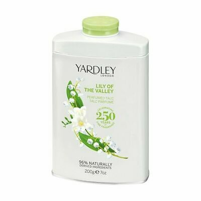 Luxury Yardley London Perfumed Talc 200g - Lily Of The Valley  Scented • 8.49£