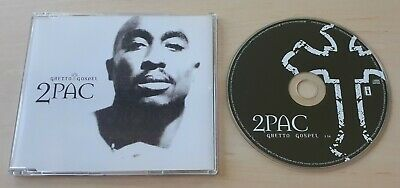 2PAC Ghetto Gospel 2004 UK 1-track Promo CD EMINEM Tupac • 3.99£
