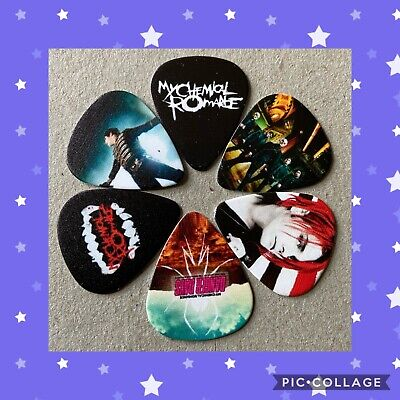 $ CDN8.05 • Buy 🎸 Lot Of 6 My Chemical Romance Limited Edition 🎸 Guitar Picks Brand New 🎸#156