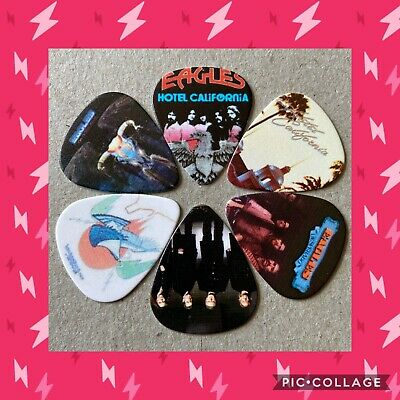 $ CDN8.05 • Buy 🎸 Lot Of 6 The Eagles  Limited Edition 🎸 Guitar Picks Brand New 🎸#161