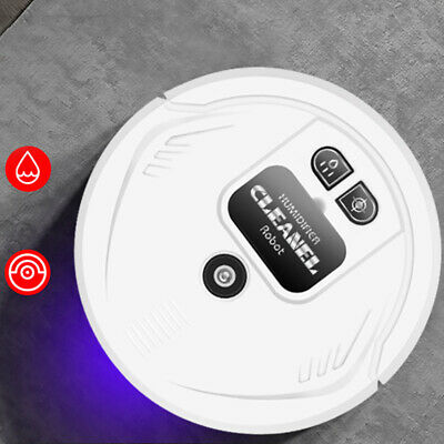 UV Disinfection Smart Sweeping Robot Vacuum Cleaner Floor Auto Suction Sweeper • 16.59£