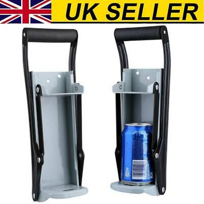 £7.77 • Buy 16oz 500ml Large Beer Tin Can Crusher Wall Mounted Recycling Tool Bottle Opener