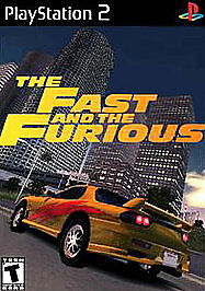 The Fast And The Furious Ps2 (Namco-Bandai) GAME NEW • 40.03£