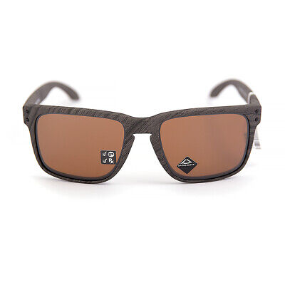 AU207 • Buy NEW Oakley Holbrook XL Polarised Woodgrain Prizm Tungsten (9417-06) Sunglasses