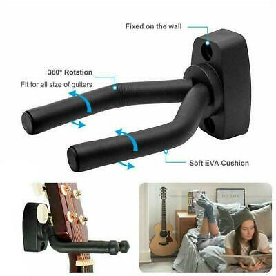$ CDN6.29 • Buy Ukulele & Guitar Wall Mount Stand Wall Hook Holder Stand Hanger Universal Q9R3