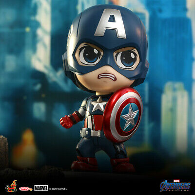 $ CDN46.96 • Buy Hot Toys Avengers Endgame Marvel Captain America COSB781 Cosbaby Collectibles