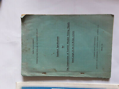 £20 • Buy Standard Specifications For Construction Of Wooden Fishing Vessels