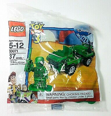 Lego Toy Story 3 Army Jeep Soldier Minifig 30071 Bricks Millitary Polybag New  • 9.16£
