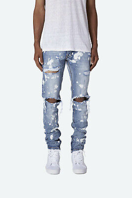 $ CDN67.11 • Buy Mnml M1 Splash Zipper Denim Jeans Bleach Splatter Distressed Men's Size 30