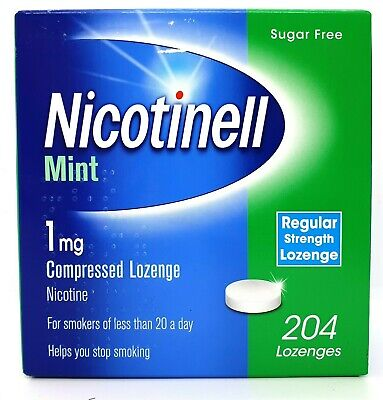 $ CDN43.93 • Buy NICOTINELL Mint | 1mg Compressed Nicotine Lozenges | 204 Pieces | NEW & IN DATE
