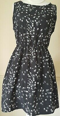 Hearts And Bows Bird Dress Size 10 • 3£