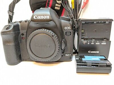 $ CDN805.43 • Buy Canon EOS 5D Mark II Digital SLR Camera Body - NEARLY MINT - Low 12k Shutters