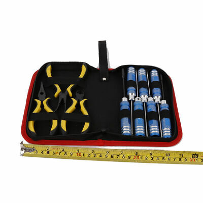 10 In 1 Tool Kit Screwdriver Pliers W/ Box For Align 450 Helicopter RC Car P4N2 • 18.97£