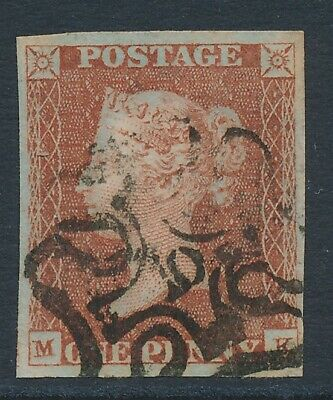 $197.43 • Buy SG 8m 1d Red Brown Lettered MK Very Fine Used With A Number 10 In Maltese Cross.