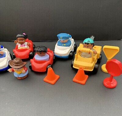 Fisher Price Little People And Selection Of Cars • 0.99£