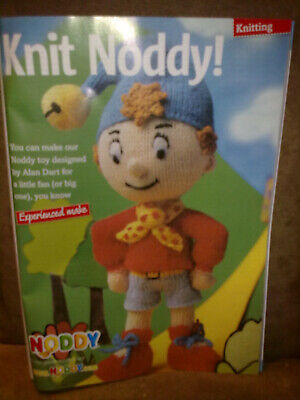 Alan Dart Noddy Toy Womans Weekly Knitting And Crochet Autumn 2009 Pattern • 4.50£