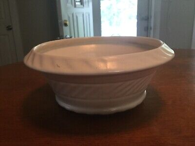 $10 • Buy Vintage Haeger 3956 Planter 7  Cream/White