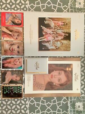 Twice Feel Special Album With Photo Cards + Poster + Pre-order Cards • 21£