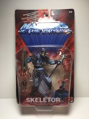 $44.99 • Buy Vintage 2001 SKELETOR 200X Masters Of The Universe MOTU He Man SEALED MOC