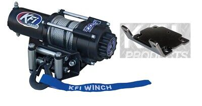 AU406.29 • Buy KFI 3000 LB Winch And Mount Kit For Yamaha Bruin Grizzly Kodiak 350 400 450 MOST