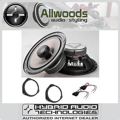 Hybrid Audio Mirus V Coax 60w RMS With Swivel Tweeter Set For Toyota Avensis • 179.99£