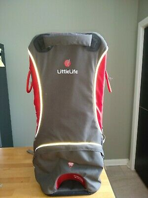 Little Life Cross Country S2 Carrier With Sun Shade And Rain Cover. • 60£