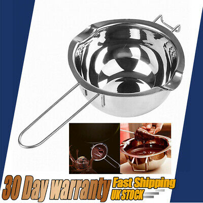 For DIY Wedding Scented Candle Stainless Steel Wax Melting Pot Double Boiler • 6.59£