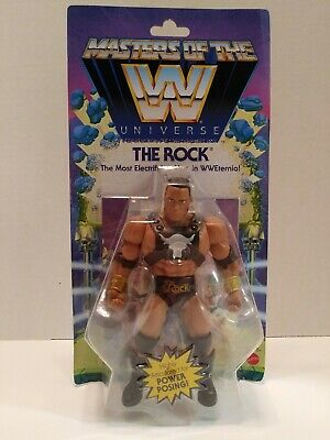$27.50 • Buy WWE Masters Of The Universe THE ROCK Action Figure MOTU 2020 NEW Wave 3