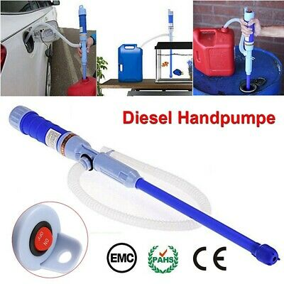 Water Pump Liquid Transfer Gas Oil Siphon Battery Operated Electric Fish Tank • 4.79£