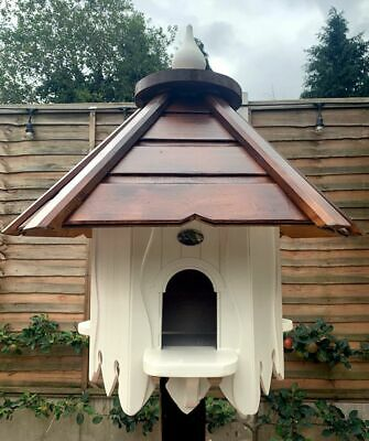 Dovecote Dovecotes Dove Cote With Brown Wooden Roof In Cream • 299£