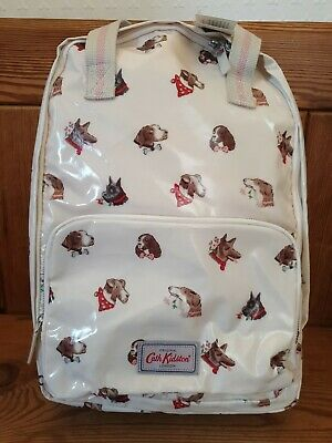£37.95 • Buy Cath Kidston Dog Portraits Front Pocket Backpack BNWT Rrp £55