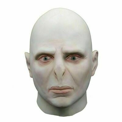 £16.99 • Buy Harry Potter Lord Voldemort Cosplay Latex Mask Costume Props Adult Halloween