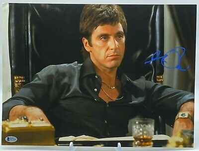 £495 • Buy Al Pacino Signed 16x12 Photo Scarface BAS Beckett Certified